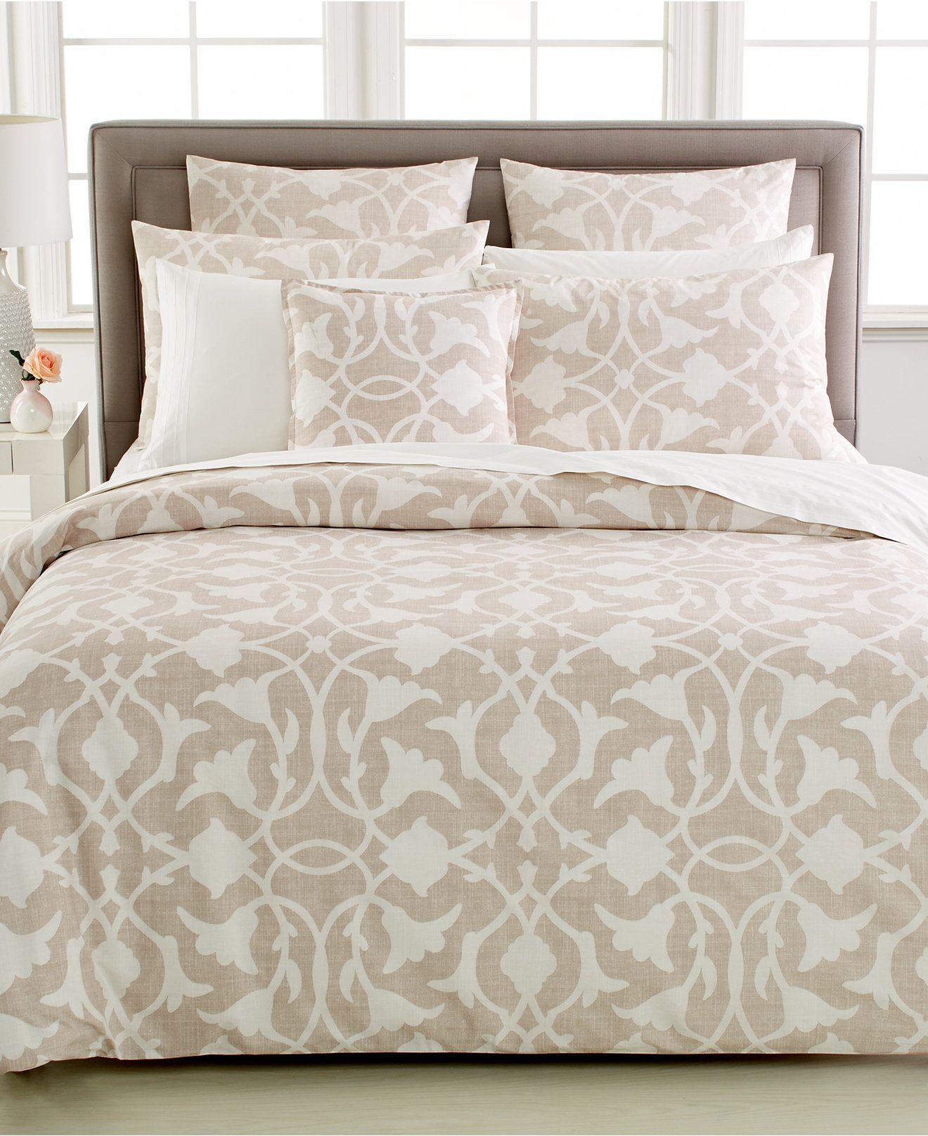 Barbara Barry Poetical Mesa Queen Duvet Cover Bedding