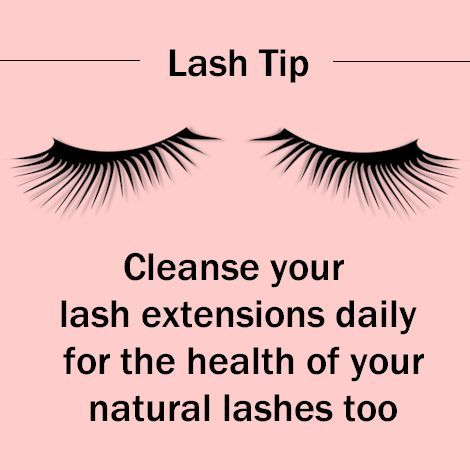 Lash Tip Cleanse Your Lashes Daily This Will Lengthen The Life Of Your Extensions Amazinglashstudiomonarchbeach Lavish Lashes Eyelash Extensions Lashes