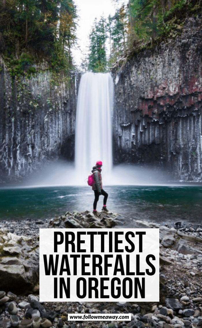 10 Bucket List Waterfalls In Oregon You Won't Want To Miss! - Follow Me Away