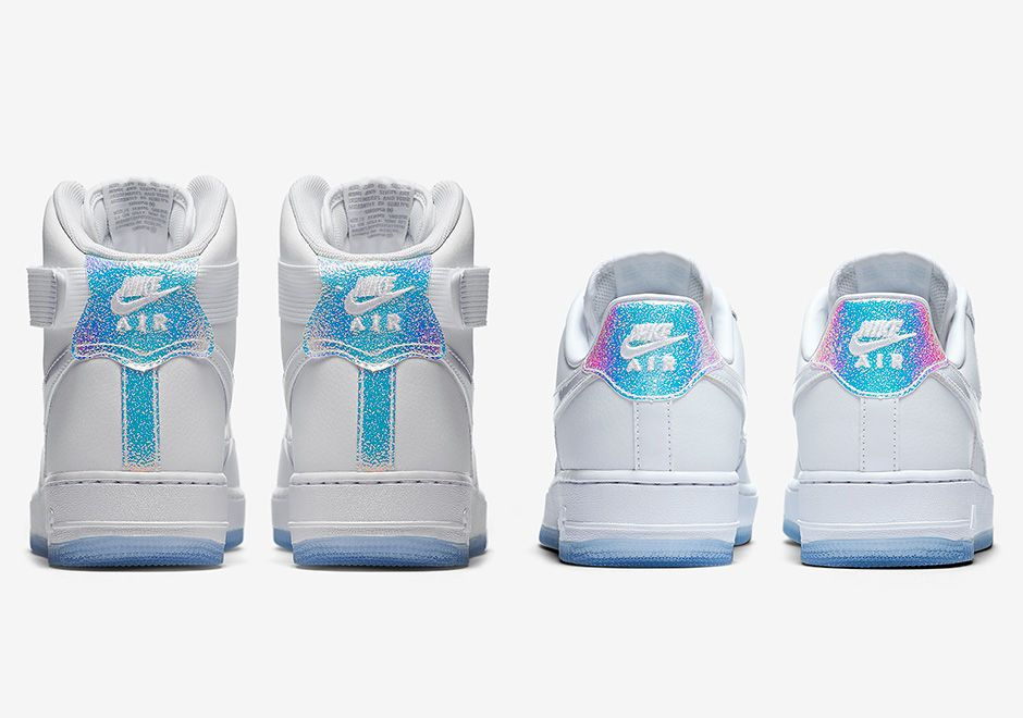 The Women's Nike Air Force 1 Iridescent Pack Drops Next Week