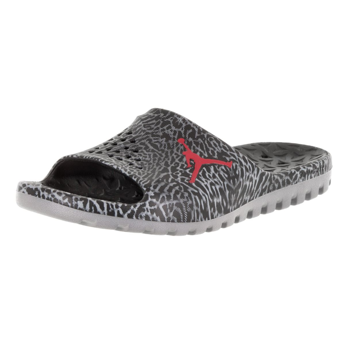 b385c046cf1 Slip on some style and hit the beach in minutes when you wear these black  sandals from Nike . The slightly padded footbed provides hours of comfort,  ...