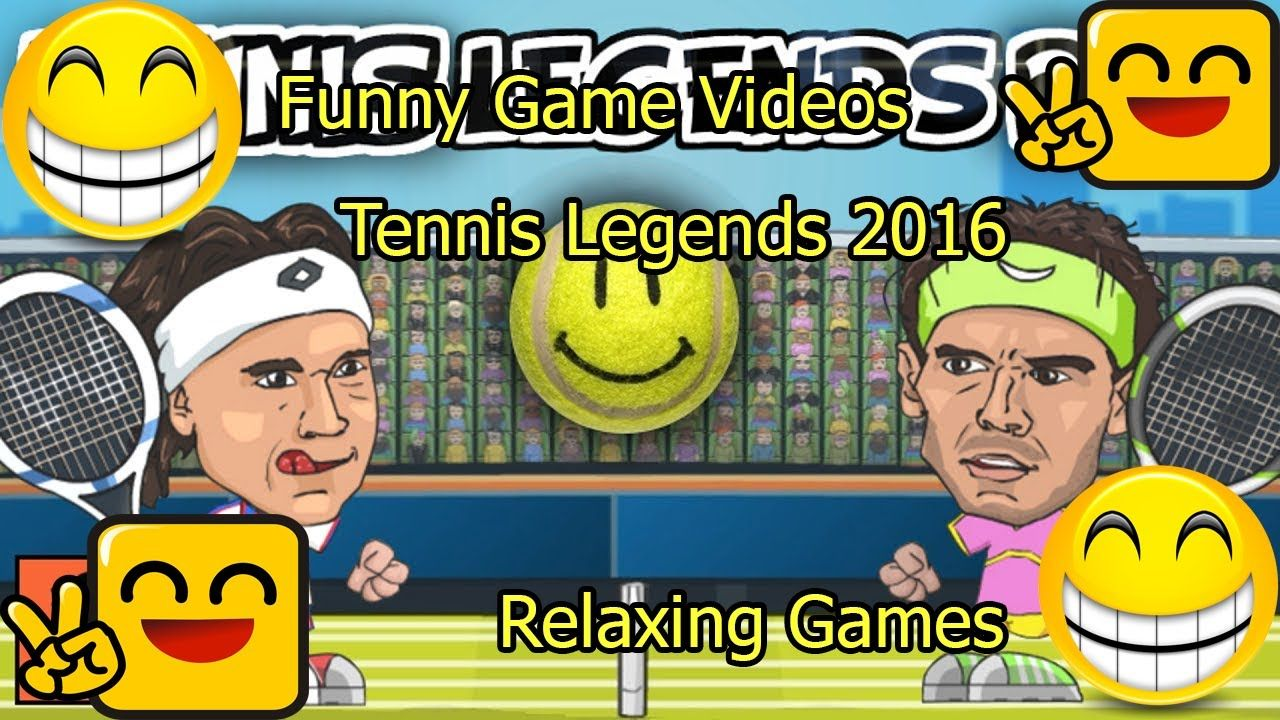 Funny Game Videos Relaxing Games Tennis Legends 2016 7