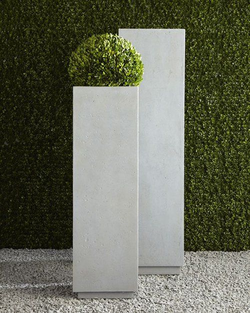 Decorating With Boxwood Garden Square Planters