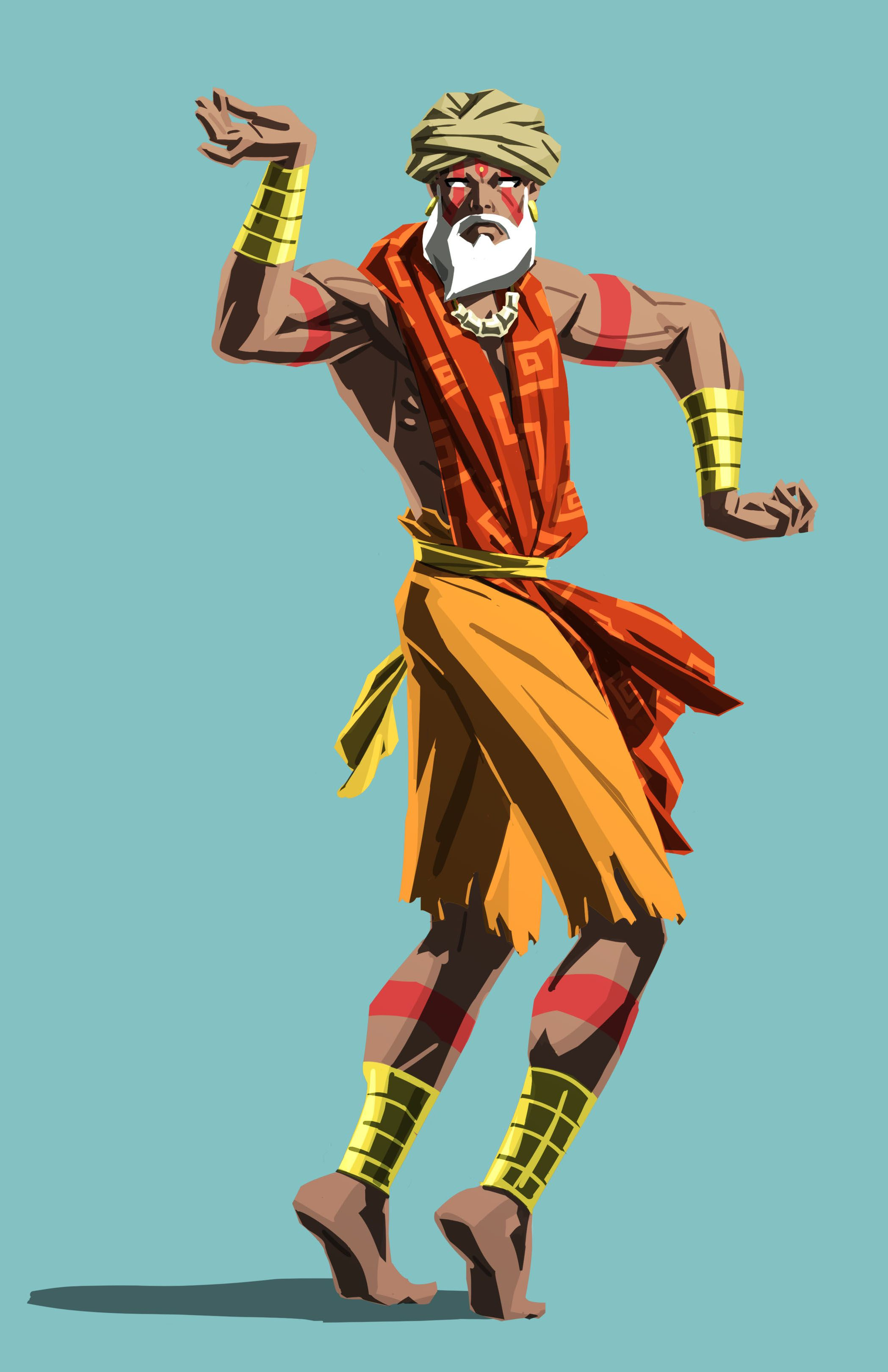 Street fighter characters dan street fighter image - Dhalsim Sfv Street Fighter V Alternate Costume Official
