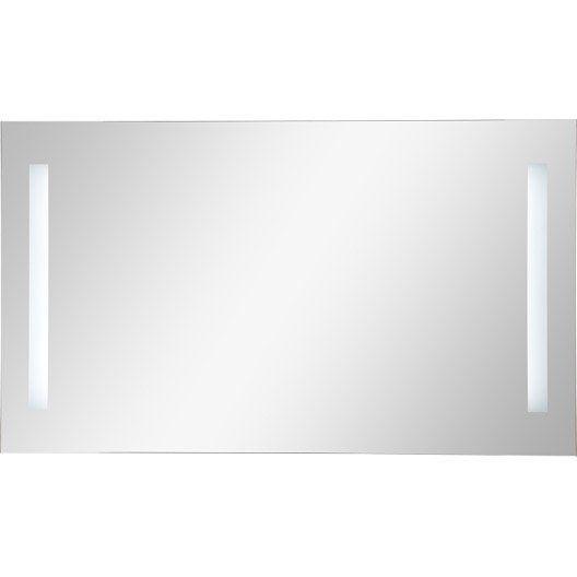 miroir lumineux de salle de bains ayo lairage