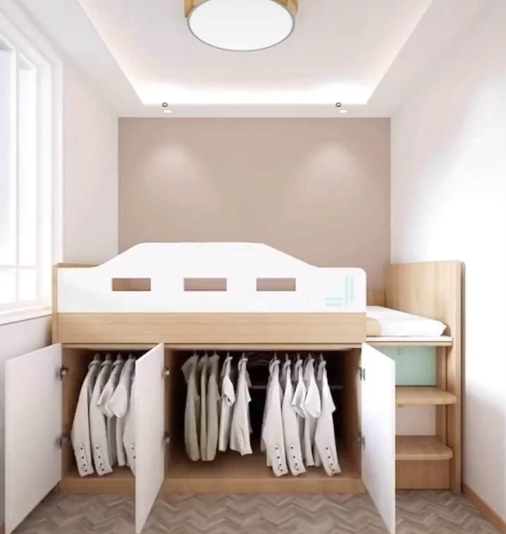 Bedroom Design and space saving ideas