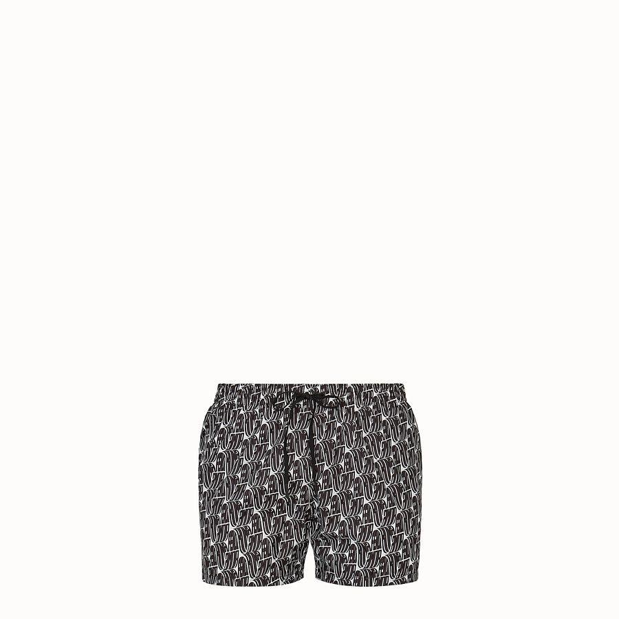 Fendi Roma Amor tech fabric shorts - SWIM SHORTS | Fendi