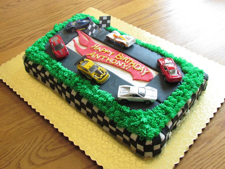 Hot wheels birthday cake cakes with images hot