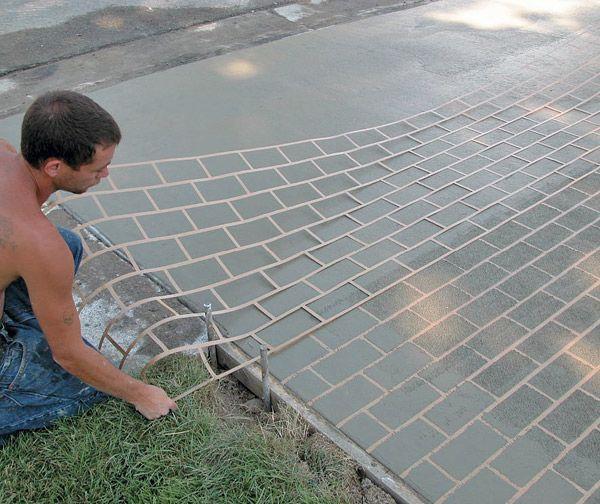 Improve Your Outcome when Using Concrete Stencils - Concrete Decor - Prix Beton Pour Terrasse