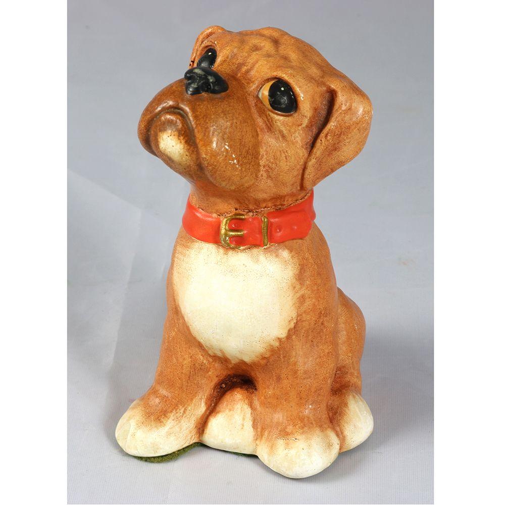 forsale latestaddition Vintage 1970's Pottery Boxer Dog