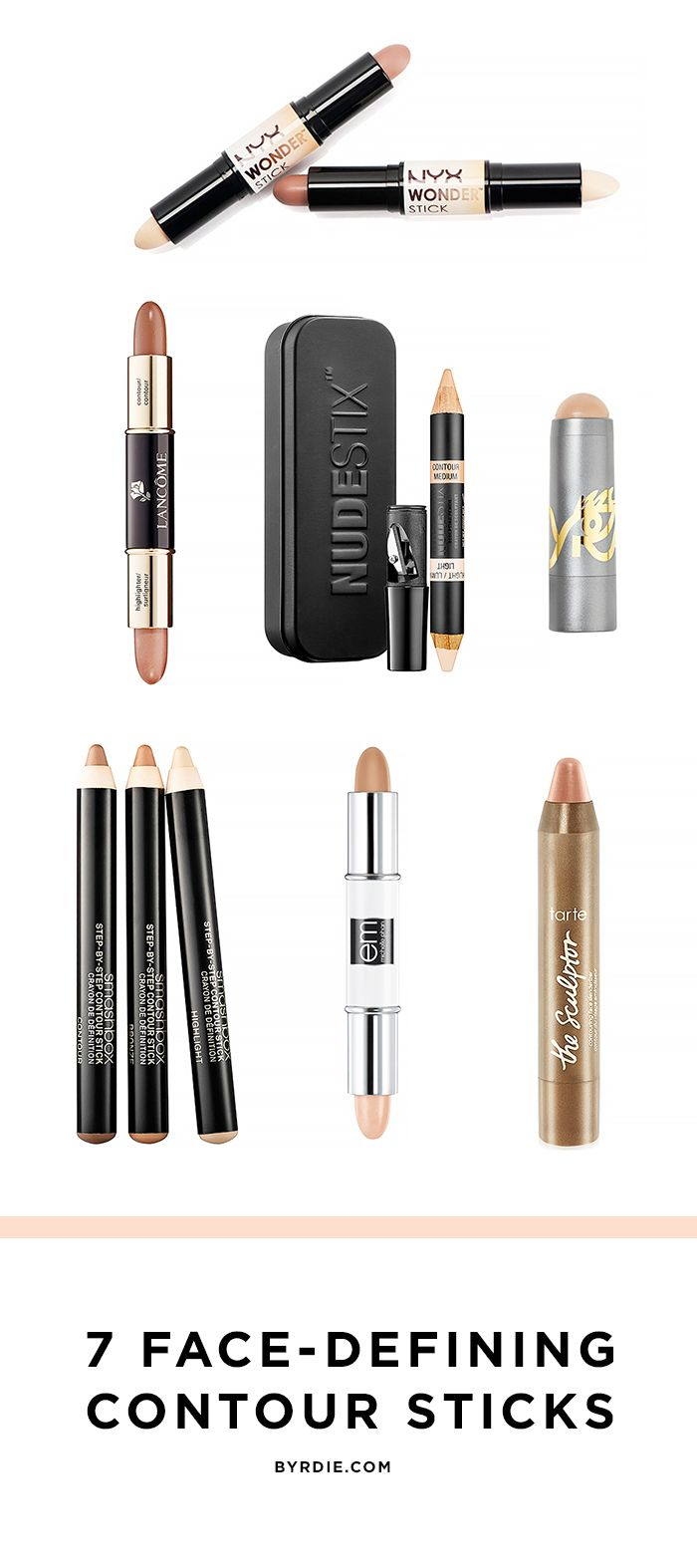 7 Contouring Sticks for an Instantly Chiselled Face