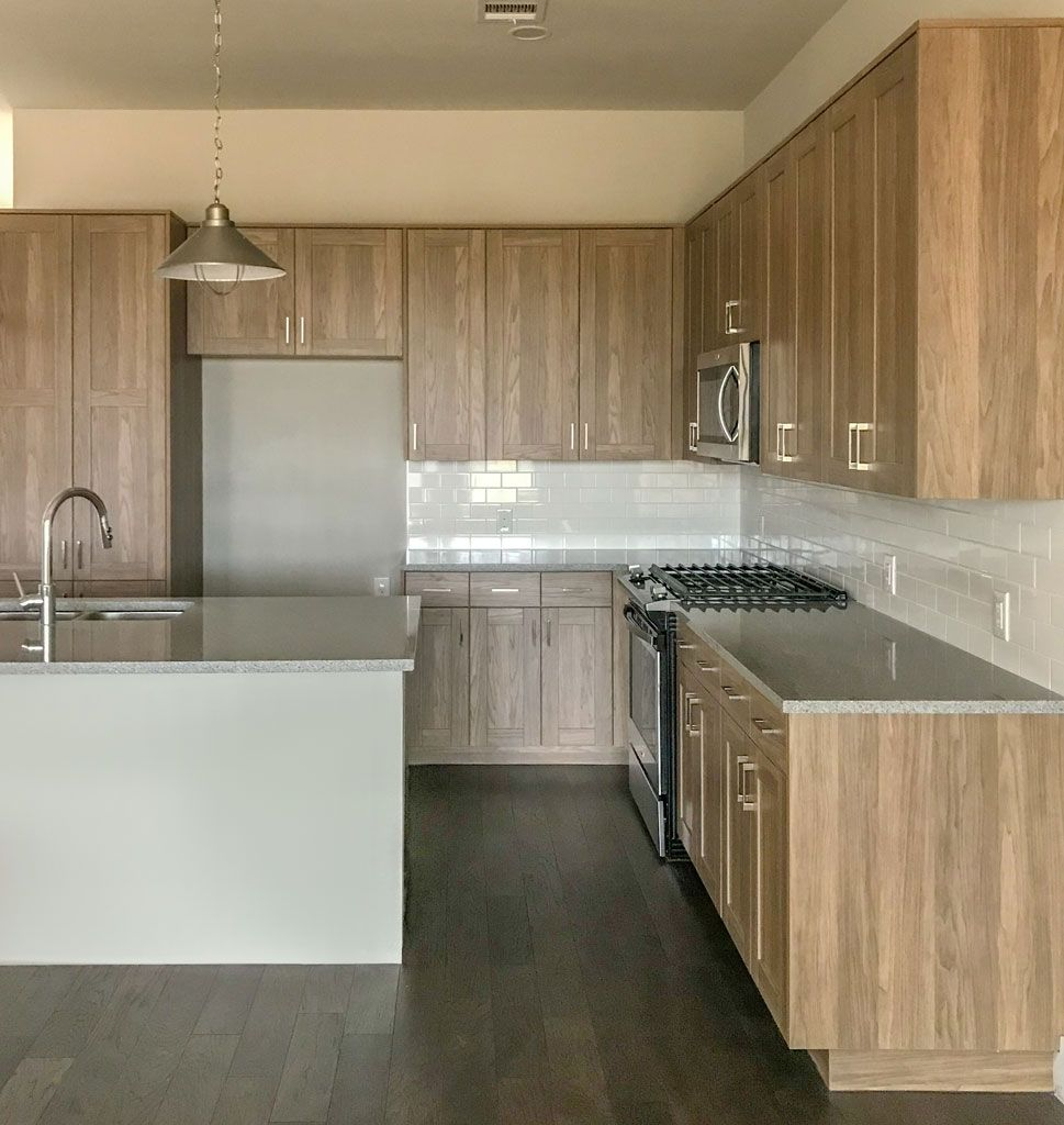 light wood kitchen in evrgrn straan engineered wood durable and rh pinterest com