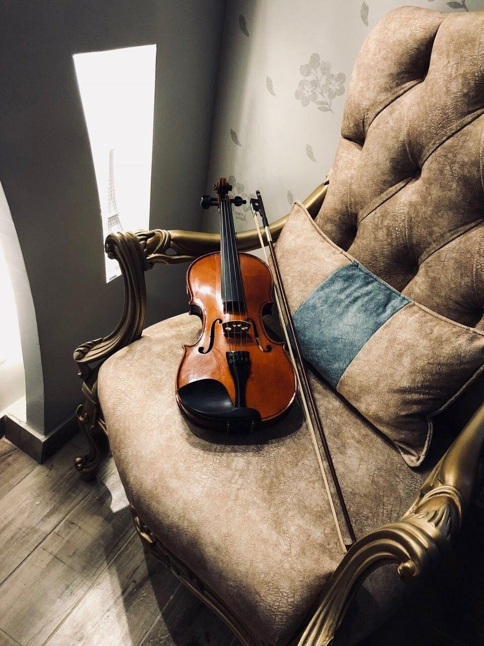 عندما تفشل الكلمات الموسيقى تتحدث Violin Music Instruments Music