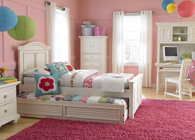 Bedroom furniture cottage retreat ii twin panel bed with - Cottage retreat ii bedroom furniture ...