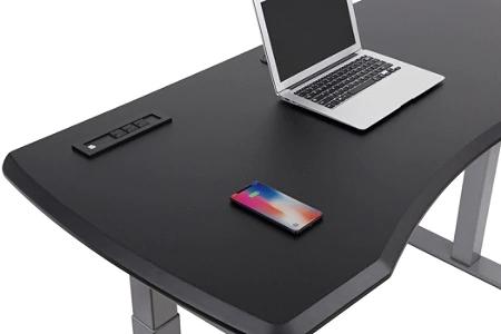 Workpro Electric Sit Stand Desk Black Office Depot In 2020 Electric Sit Stand Desk Black Desk Sit Stand Desk