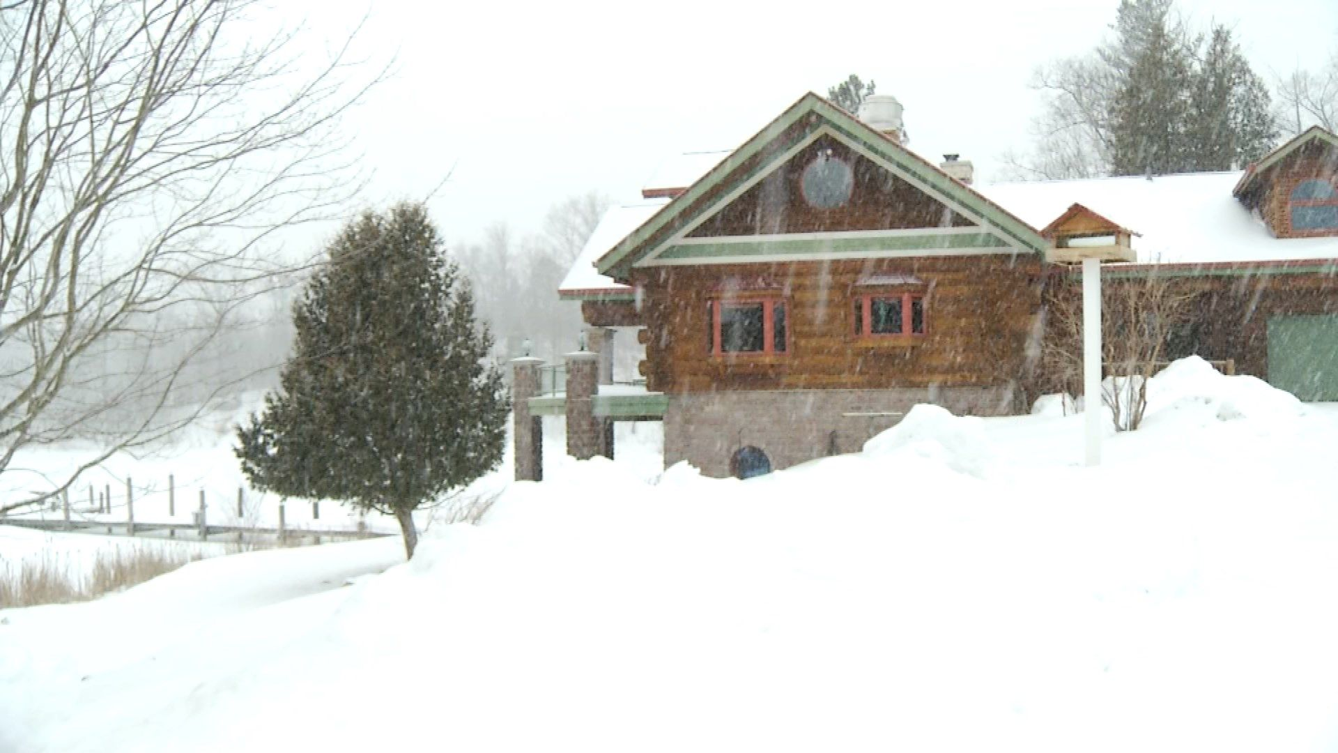 Amazing Northern Michigan Homes: Lewiston Log Home - Northern ...