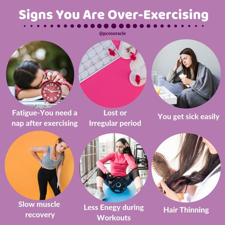 Exercise is important for PCOS. But more isn't always ...
