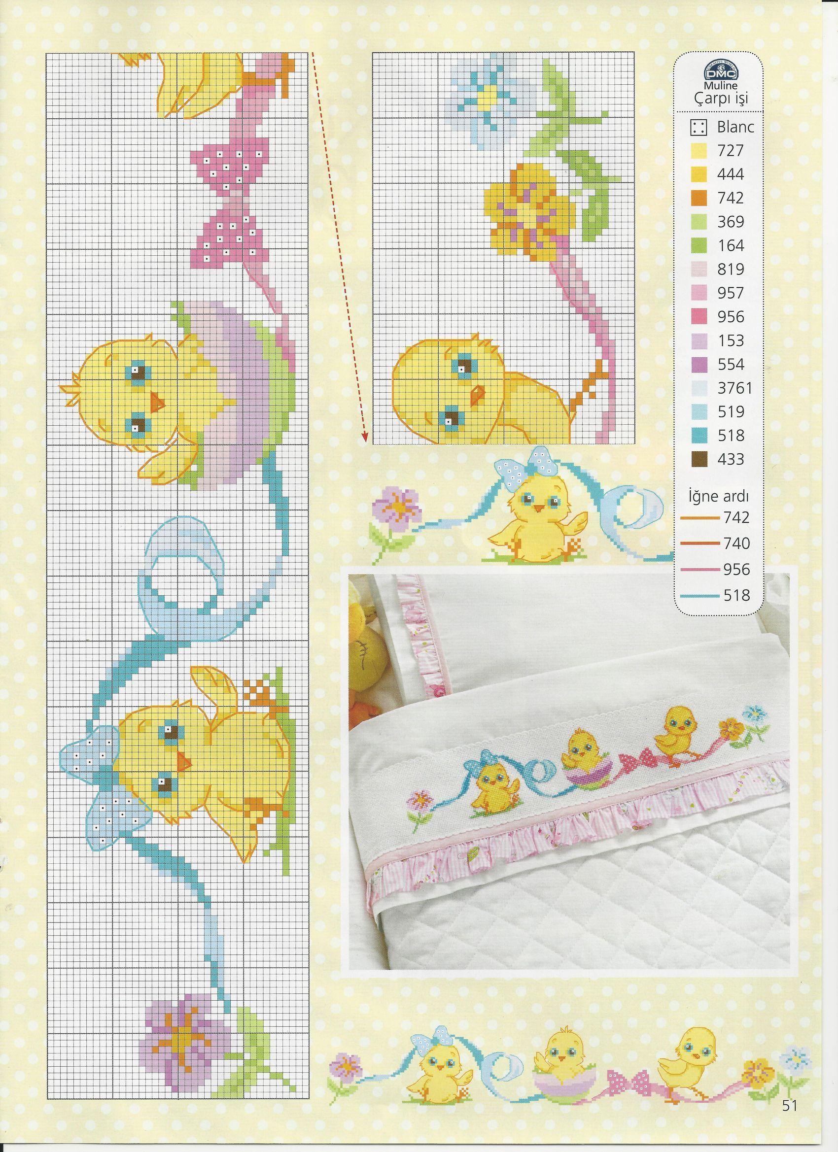 Gráfico | bebes | Pinterest | Punto de cruz, Punto de cruz bebe y Punto