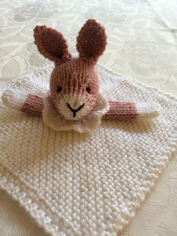 (6) Name: 'Knitting : Bunny Mini Cuddly Blankie | Crochet ...