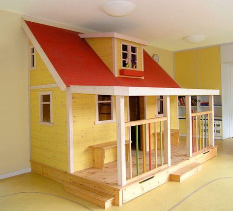 Buntes Spielhaus für Kindergarten (mit Bildern