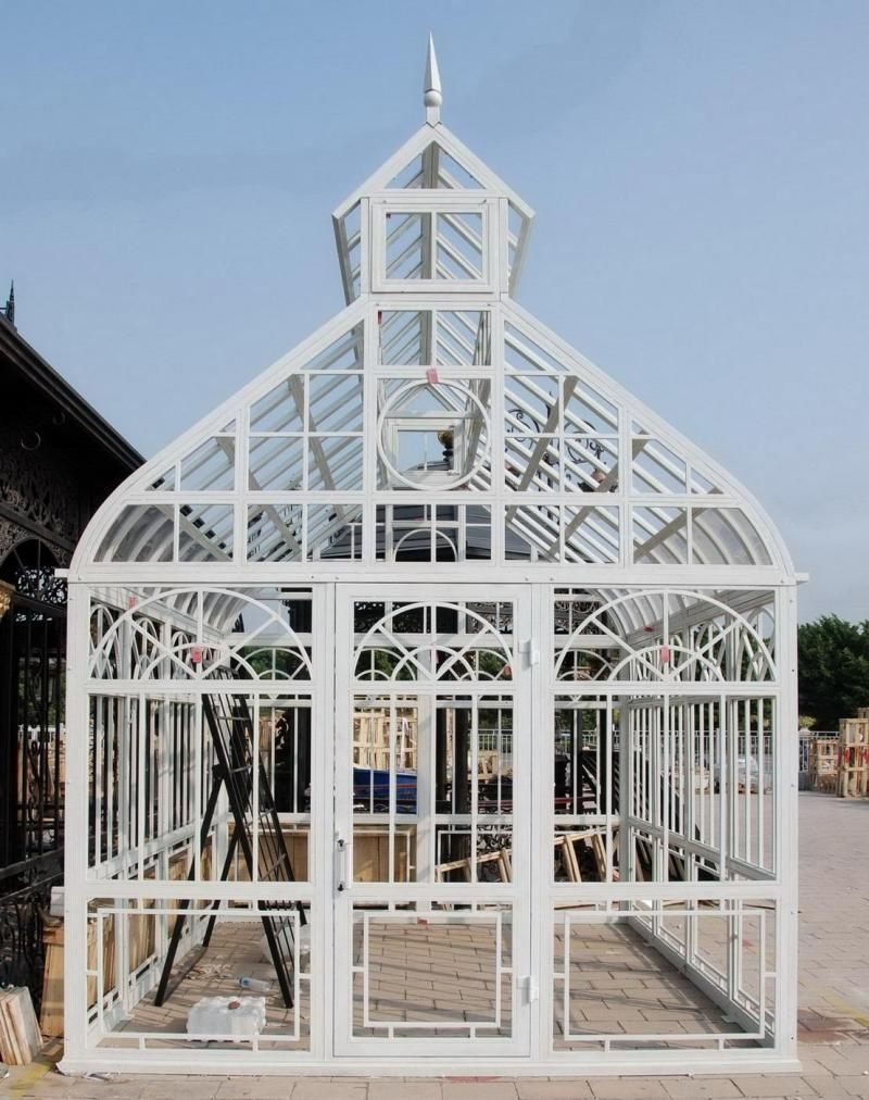 Photo of Steeple Design Garden Conservatory or Greenhouse