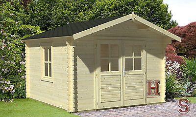 Gartenhaus 34 Mm Geratehaus 320x250 Cm Holzhaus Auktion Schuppen Blockhaus Holz Gartenhaus Blockhaus Holzhaus