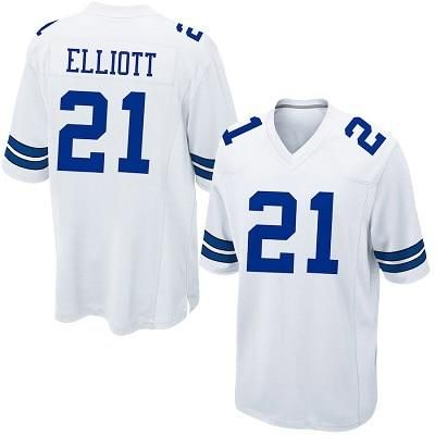 best sneakers ed37f 34f89 Official Zeke Elliott -High Quality Stitched Dallas Cowboys ...