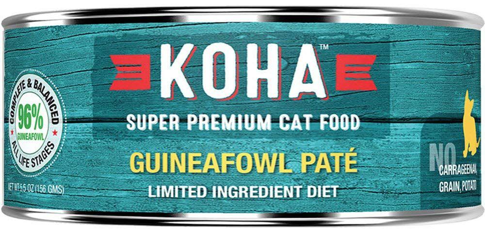 Koha cat limited ingredient pate grain free guineafowl 24