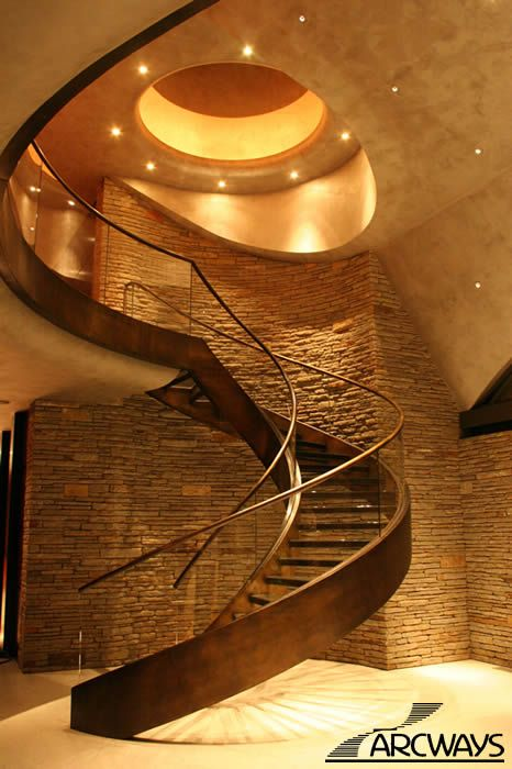 Best 363B Stairway With Glass Treads Stunning Modern One Of A 400 x 300