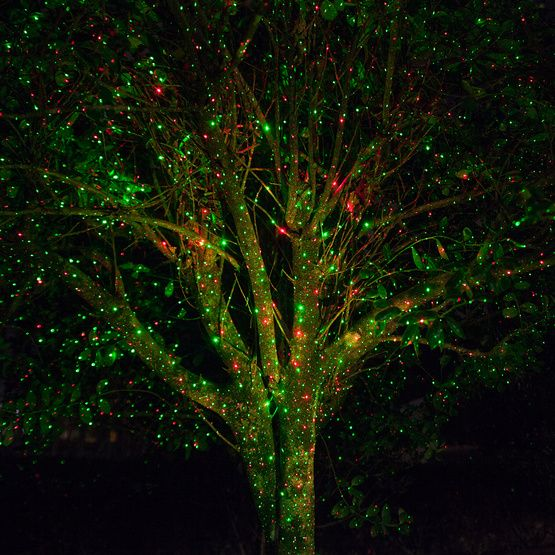 Green / Red X1000 Laser Christmas Light Projector Christmas Decor