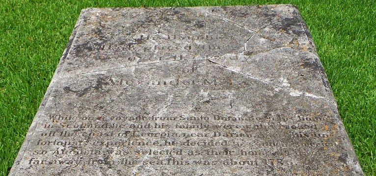 Southern Graves: Alexander McLaws, Shipwrecked Immigrant