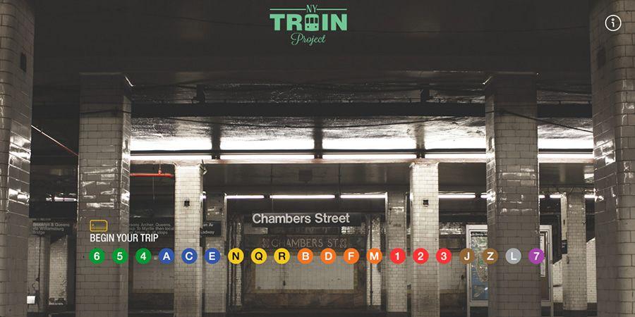 Sites da Semana: DevRocket, NY Train Project, TRÜF e mais | Abduzeedo Design Inspiration