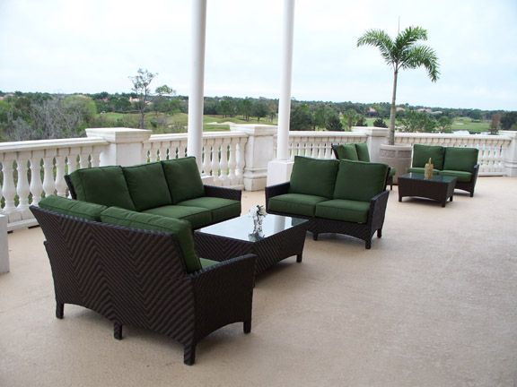 Palmer Wicker By Windward Design Group Provides Luxurious