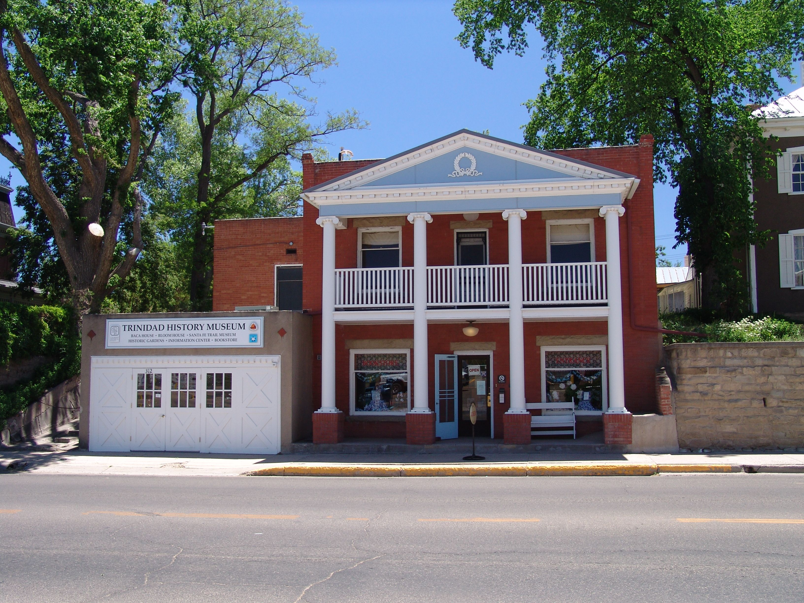 Baca and Bloom house Book Store in Trinidad Colorado www
