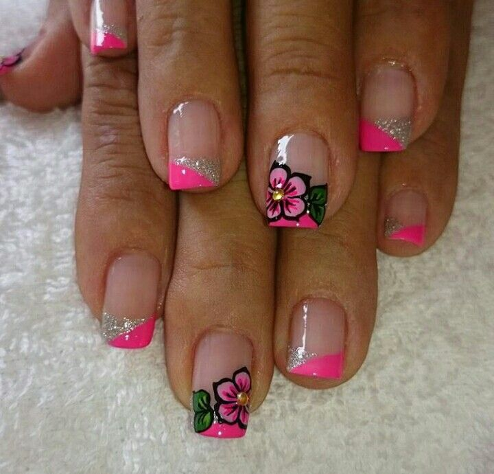 Pin by Cristina Arias on My cute nail art | Pinterest | Pedicures ...