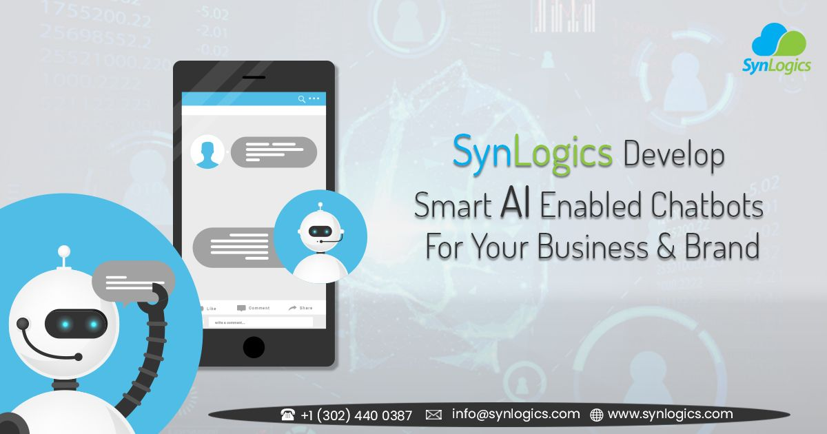 Synlogics Provides Ai Chatbot Development Services For All Kinds Of Business Enterprises And Also We Quickly Build And Depl Nlp Development Business Branding