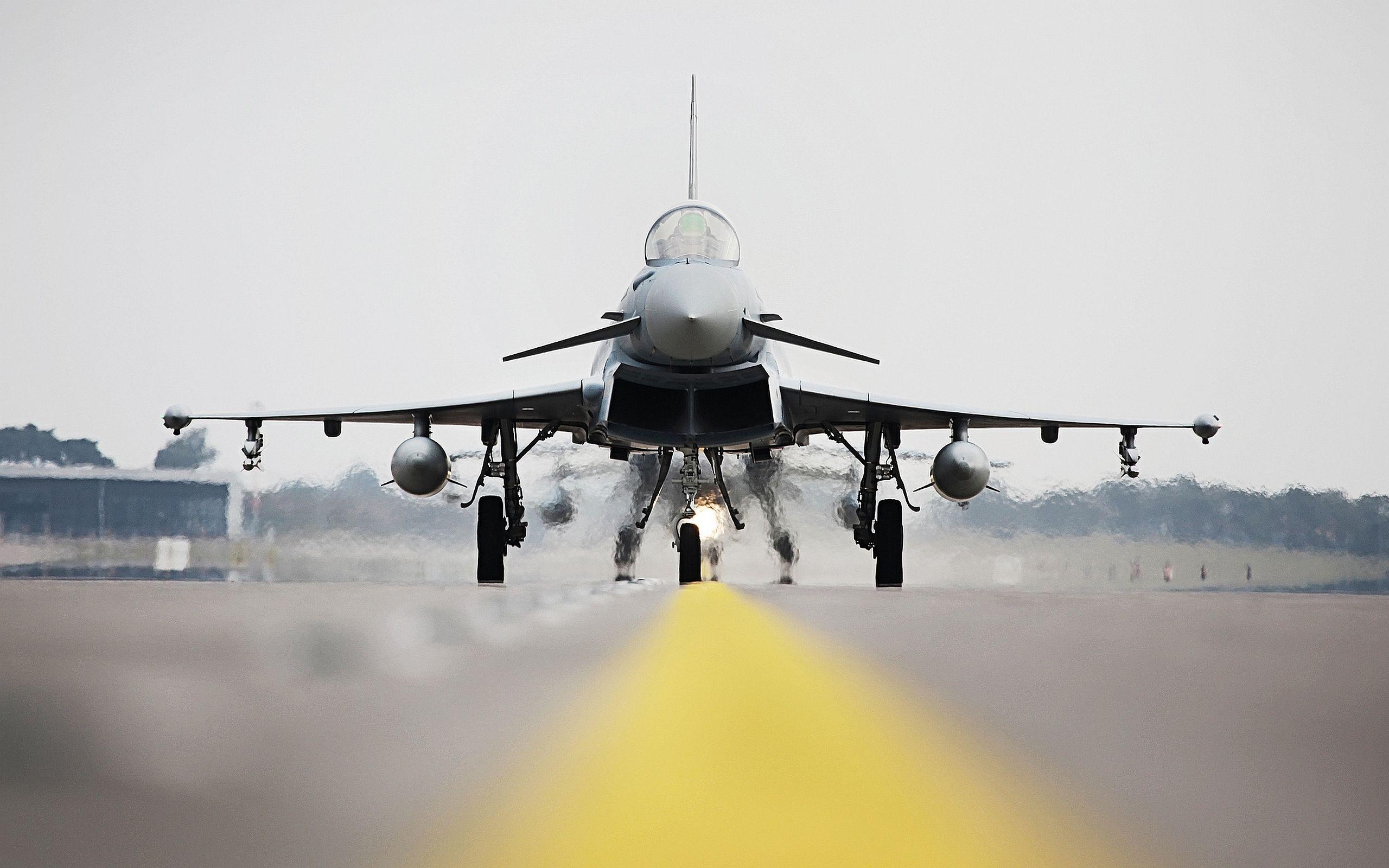 Обои самолеты, Eurofighter typhoon. Авиация foto 17