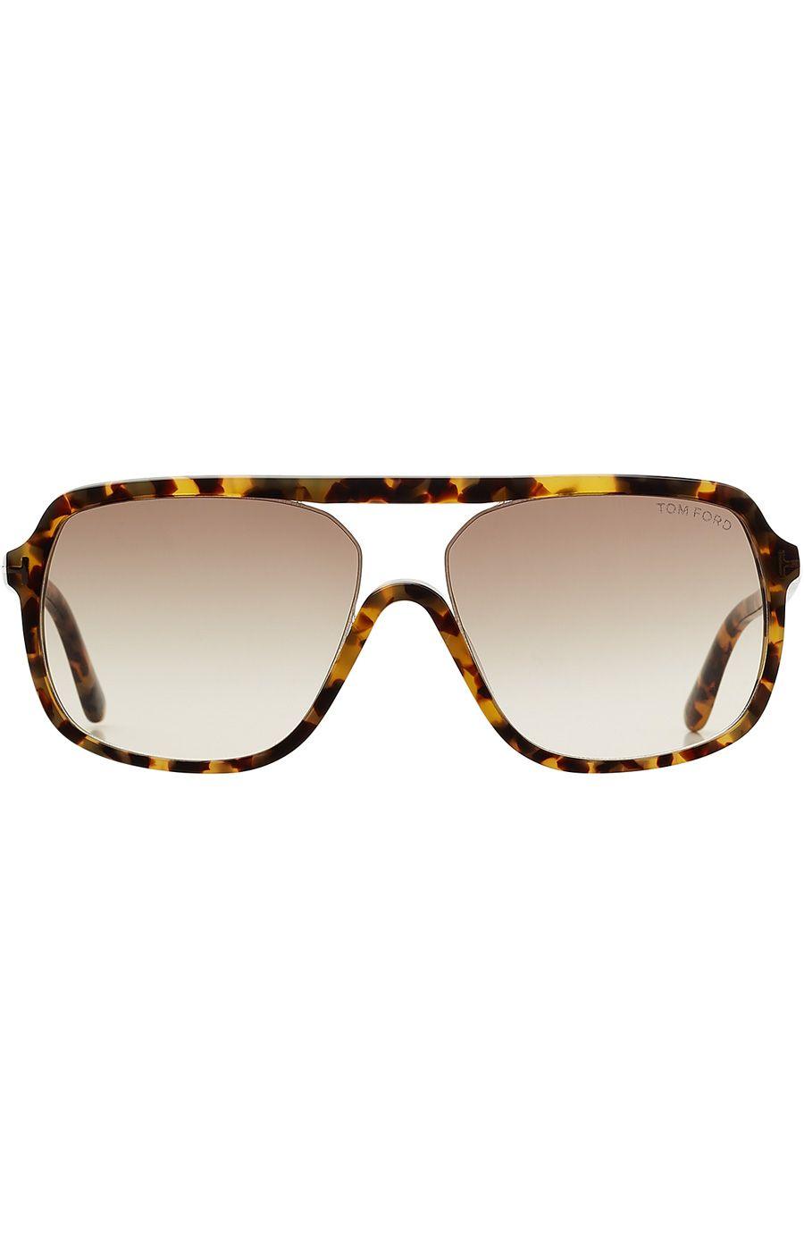 Oversize Aviator Sunglasses detail 0