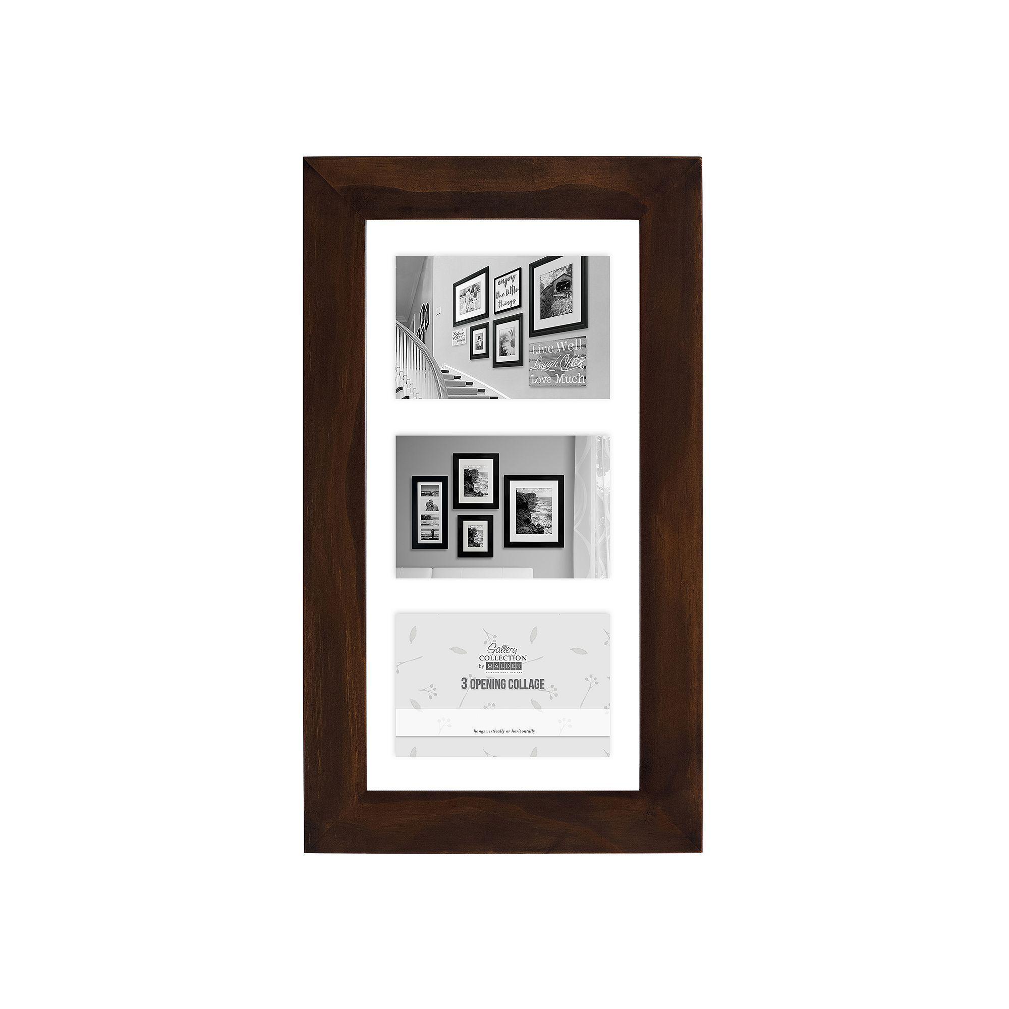 Malden 3-Opening 5 x 7 Floating Collage Frame
