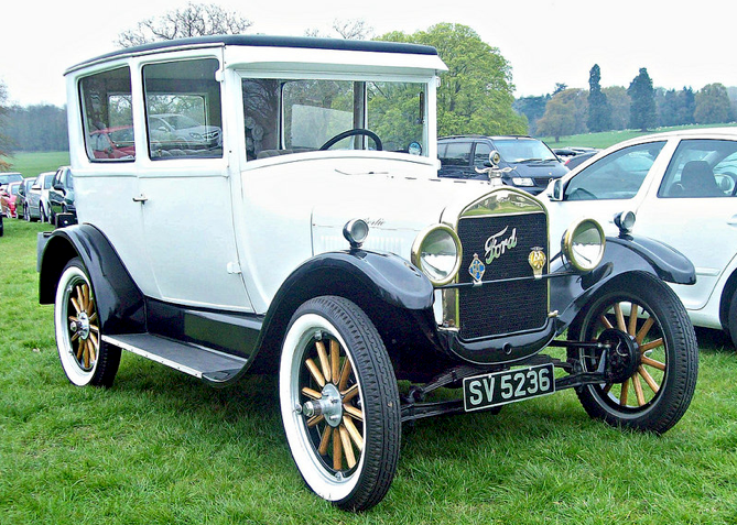 1927 Ford Model T Tudoor 2 9l 4 Cylinder 20bhp Engine