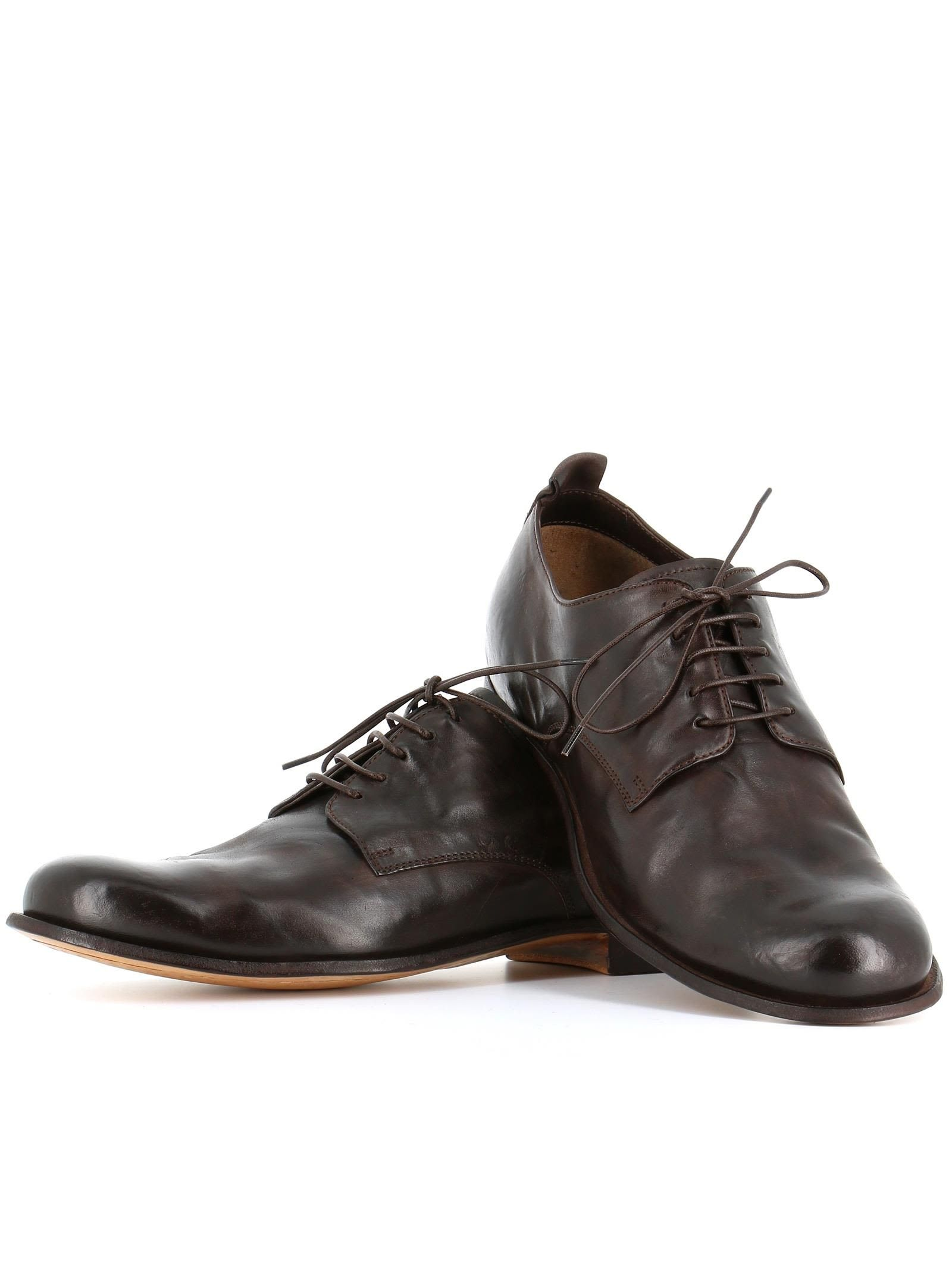Brun Bureau Officine Chaussures Créatifs De Bureau Italia Pour Les Hommes FJGiQ3