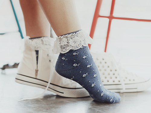 calze converse donna