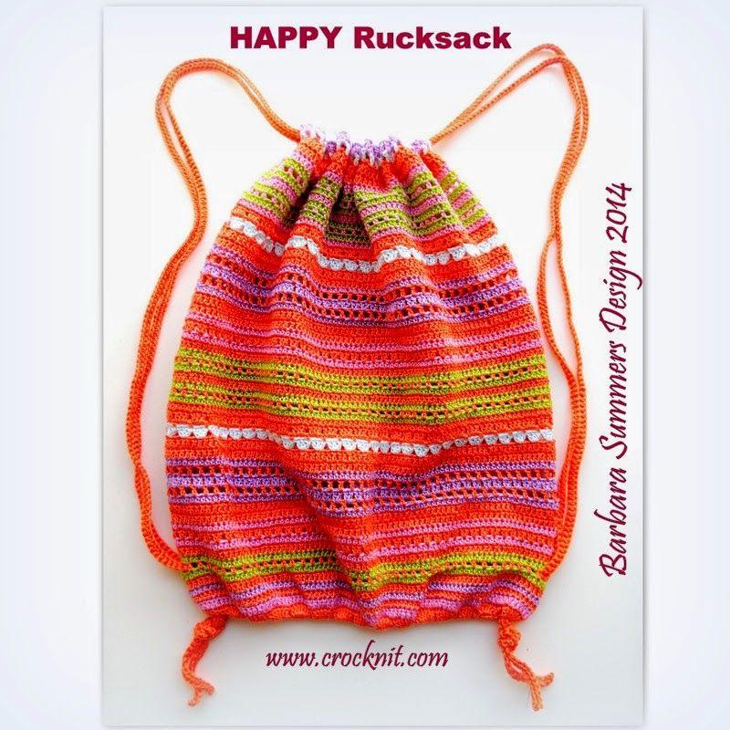 Microcknit Creations Happy Rucksack Free Crochet Pattern Part 1