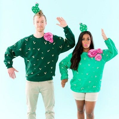 Cactus Couple Halloween Costume