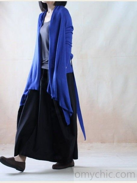 Black line skirt casual long maxi skirt plus size - The old Melody