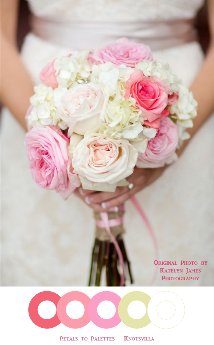 Pink wedding bouquets perfect pink wedding flowers pinktober