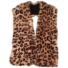 YVES SALOMON Large fur collar