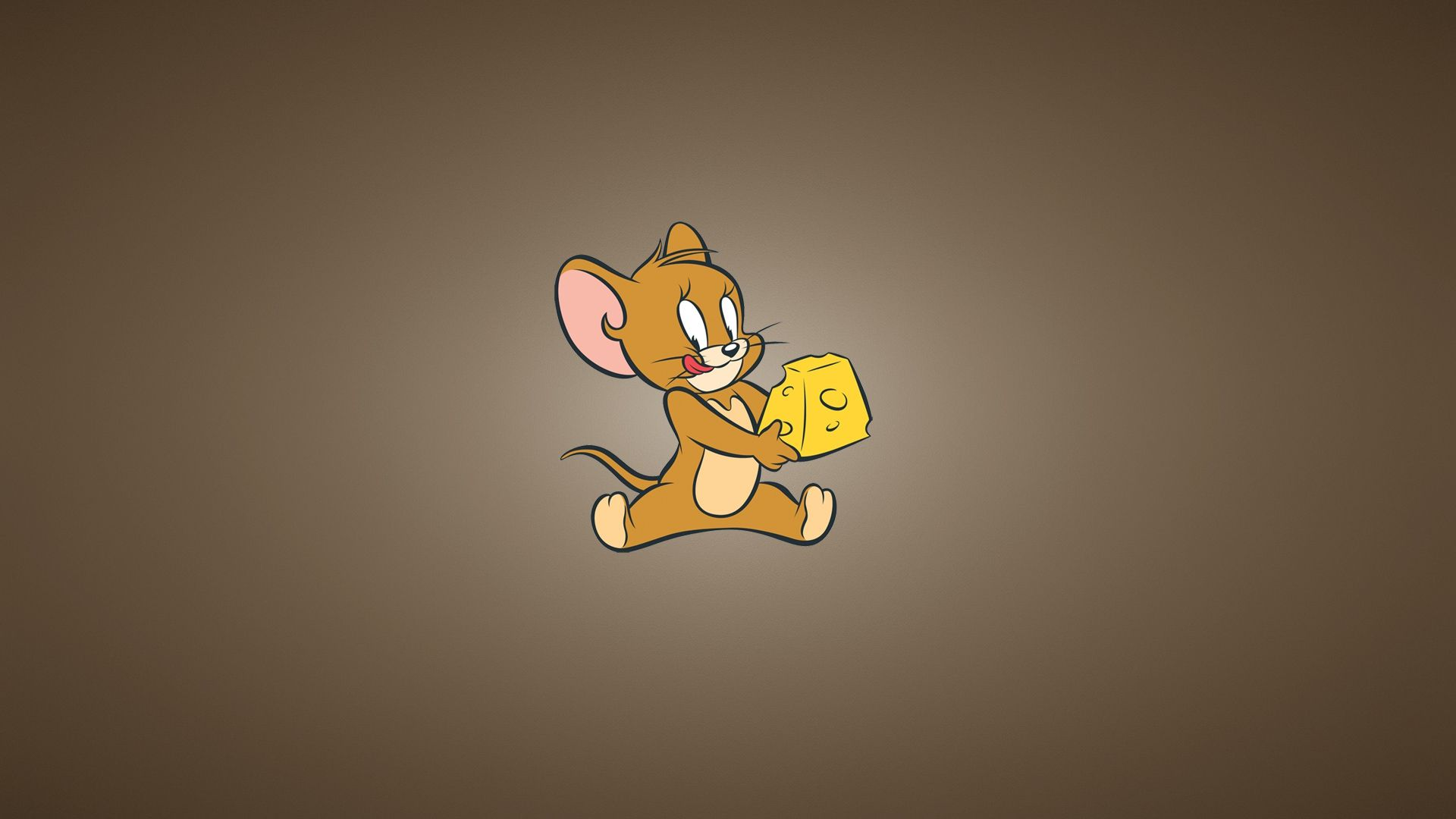 1920x1080 Wallpaper Tom And Jerry Cheese Mouse Minimalism Tom And Jerry Wallpapers Cartoon Wallpaper Tom And Jerry Full screen 1080p tom and jerry hd