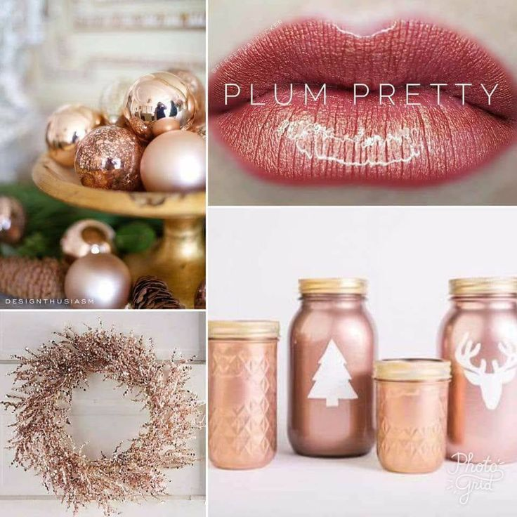 Plum Pretty and pretty lights...Holidays are complete with #lipsense and smudgeproof kisses.