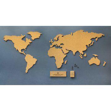 Mapa mundo de cortia list of wishes pinterest mapa mundo de cortia gumiabroncs Images